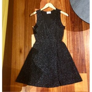 Everly sparkly black dress